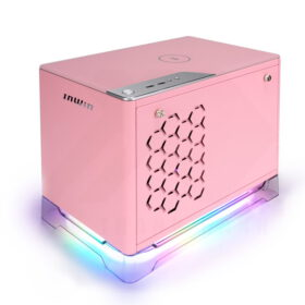 InWin A1 PLUS Case Pink 3