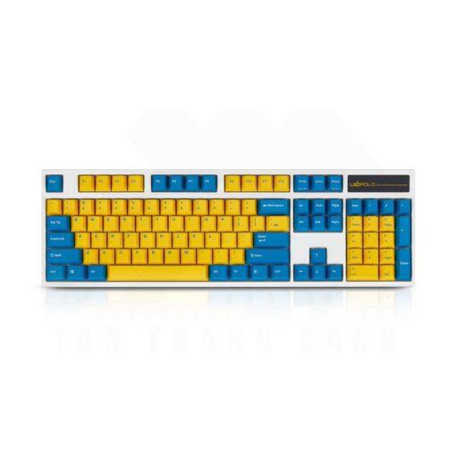 Leopold FC900R Swedish White Keyboard 1