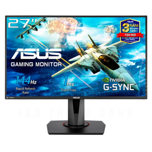 ASUS VG278Q Gaming Monitor 27 FHD 144Hz 1ms G SYNC Compatible Speakers 1