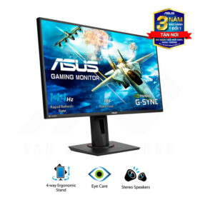 ASUS VG278Q Gaming Monitor 27 FHD 144Hz 1ms G SYNC Compatible Speakers 2