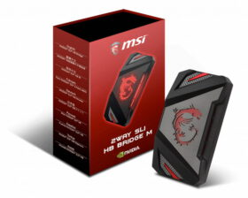 MSI 2WAY SLI HB Bridge M – 60mm 1 slot spacing 3
