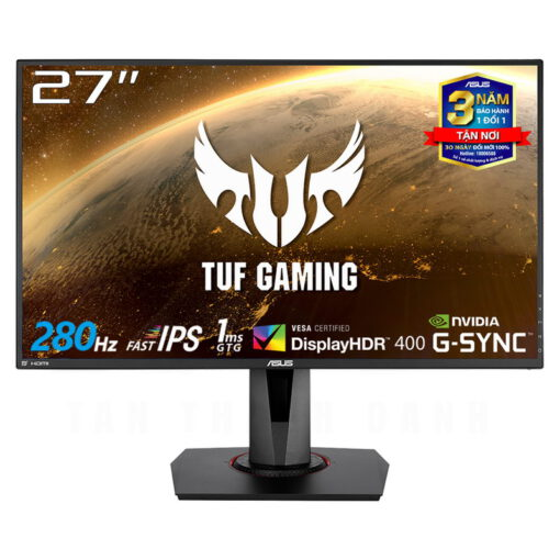 ASUS TUF Gaming VG279QM Monitor 27 FHD 280Hz 1ms MPRT Fast IPS Panel G Sync Compatible DisplayHDR 400 1