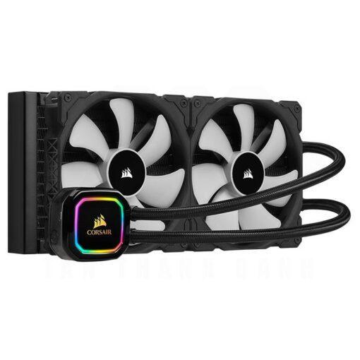 CORSAIR iCUE H115i RGB PRO XT Liquid CPU Cooler 1