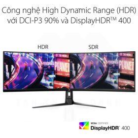 ASUS ROG Strix XG49VQ SUPER Ultra Wide Gaming Monitor 4
