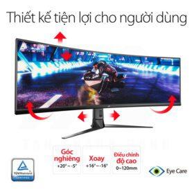 ASUS ROG Strix XG49VQ SUPER Ultra Wide Gaming Monitor 7