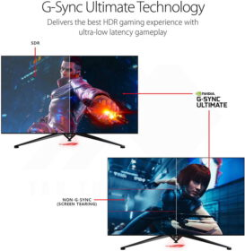 ASUS ROG Swift PG65UQ Big Format Gaming Monitor 3