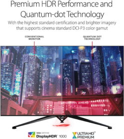 ASUS ROG Swift PG65UQ Big Format Gaming Monitor 4