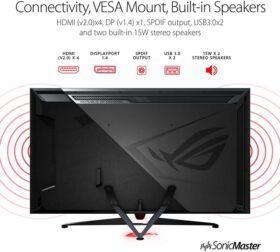ASUS ROG Swift PG65UQ Big Format Gaming Monitor 7
