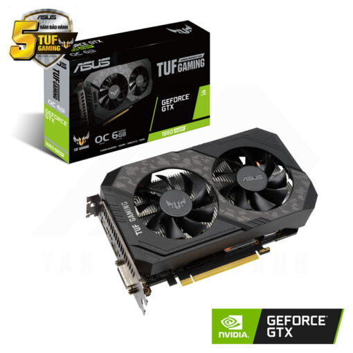 ASUS TUF Gaming Geforce GTX 1660 SUPER OC Edition 6G Graphics Card 1