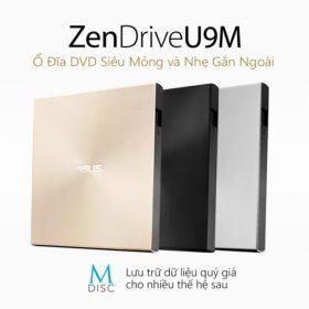 ASUS ZenDrive U9M Portable External ODD Gold 1