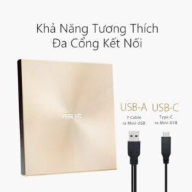 ASUS ZenDrive U9M Portable External ODD Gold 2