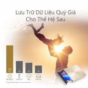 ASUS ZenDrive U9M Portable External ODD Gold 3