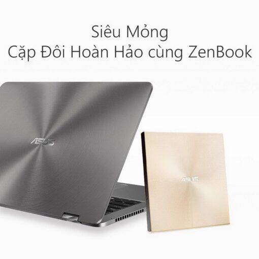 ASUS ZenDrive U9M Portable External ODD Gold 7