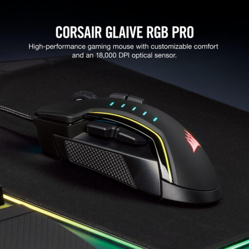 CORSAIR GLAIVE RGB PRO Gaming Mouse 1