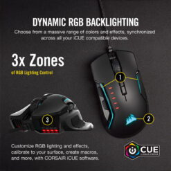 CORSAIR GLAIVE RGB PRO Gaming Mouse 6