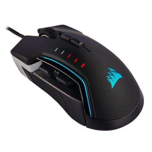 CORSAIR GLAIVE RGB PRO Gaming Mouse Aluminum