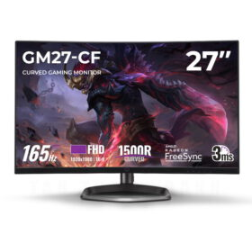 Cooler Master GM27 CF Curved Gaming Monitor Featured
