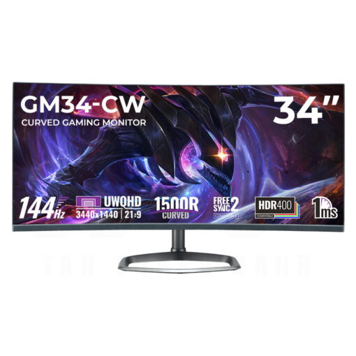 Cooler Master GM34 CW Curved Gaming Monitor Featured