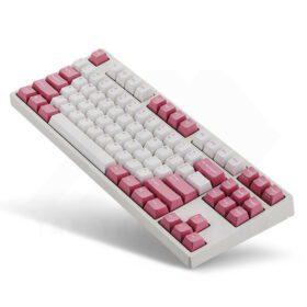 Leopold FC750R OE Light Pink Keyboard 3