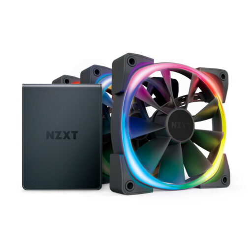NZXT Aer 120 RGB 2 Starter Kit Triple Fans Kit HUE 2 Controller