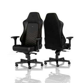 Noblechairs HERO Series Gaming Chair Black Gold 5