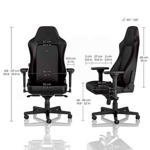 Noblechairs HERO Series Gaming Chair Black Red 4