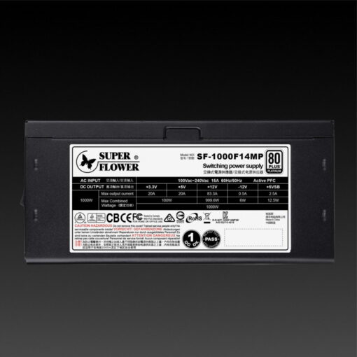 Super Flower Leadex Platinum SE 1000W PSU 2