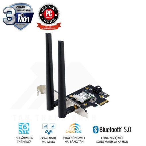 ASUS PCE AX3000 Wireless AX3000 PCI E Adapter
