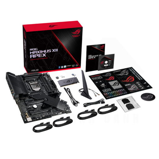 ASUS ROG MAXIMUS XII APEX Mainboard Z490 Chipset 9