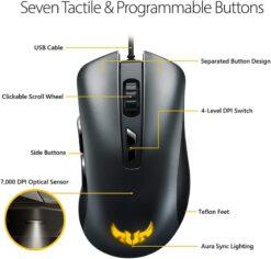 ASUS TUF Gaming M3 Mouse 3
