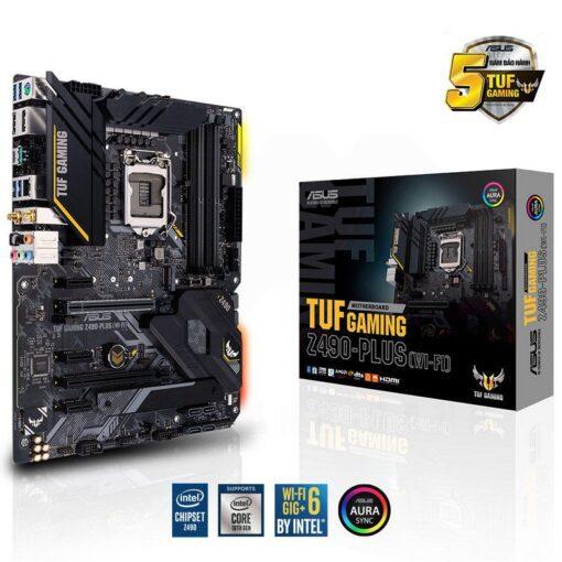 ASUS TUF Gaming Z490 PLUS WI FI Mainboard 1