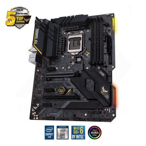 ASUS TUF Gaming Z490 PLUS WI FI Mainboard 2