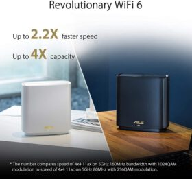 ASUS ZenWiFi AX System XT8 2 Pack Routers 2