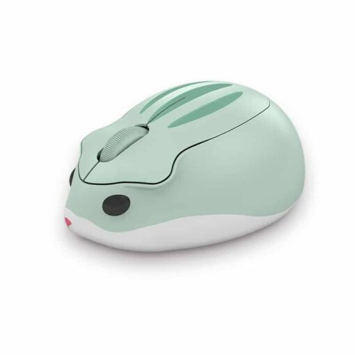 Akko Hamster AOKI Green Wireless Mouse 1