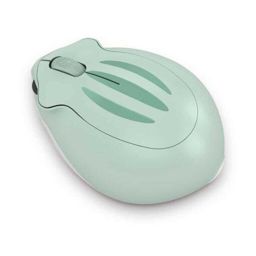 Akko Hamster AOKI Green Wireless Mouse 3