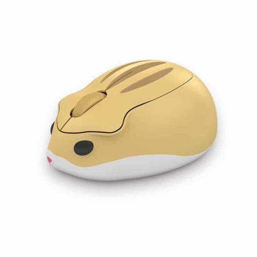 Akko Hamster HIMA Yellow Wireless Mouse 1