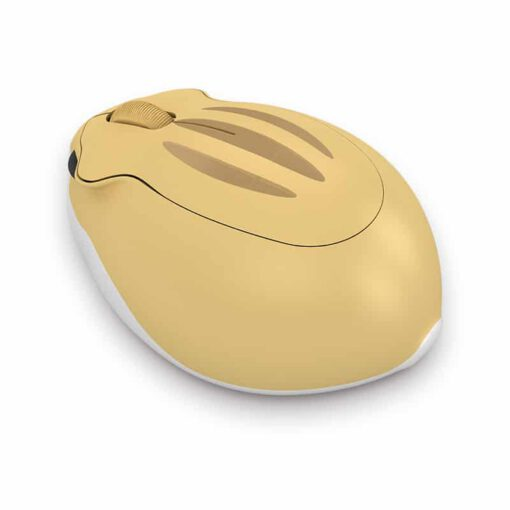 Akko Hamster HIMA Yellow Wireless Mouse 3