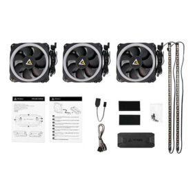Antec Prizm 120 ARGB 32C Triple Fans Dual LED Strips Fan Hub Controller 2
