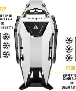 Antec Torque Open Air Case Black White 6