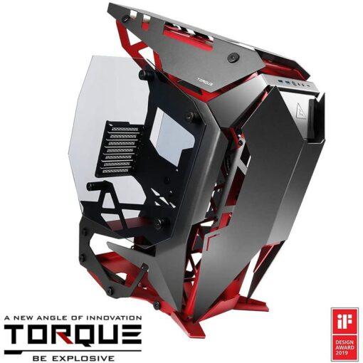 Antec Torque Open Air Case Red Gray 1