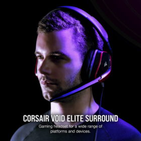 CORSAIR VOID ELITE Premium Gaming Headset Cherry 2