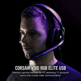 CORSAIR VOID RGB ELITE Premium Gaming Headset Carbon 2