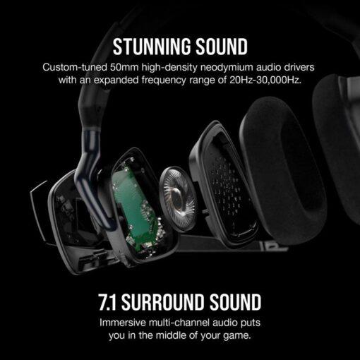 CORSAIR VOID RGB ELITE Premium Gaming Headset Carbon 3
