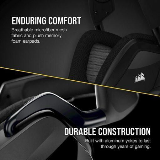 CORSAIR VOID RGB ELITE Premium Gaming Headset Carbon 4