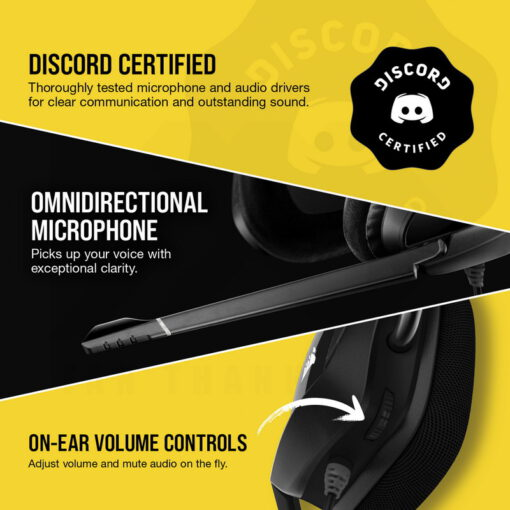 CORSAIR VOID RGB ELITE Premium Gaming Headset Carbon 5