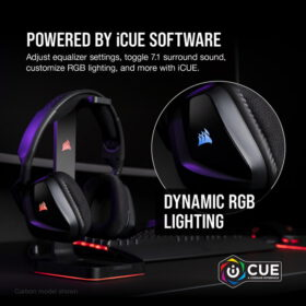 CORSAIR VOID RGB ELITE Premium Gaming Headset Carbon 6