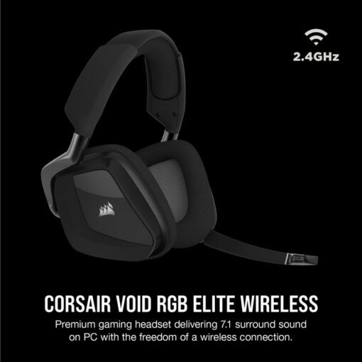 CORSAIR VOID RGB ELITE Wireless Headset Carbon 2