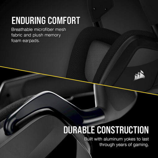 CORSAIR VOID RGB ELITE Wireless Headset Carbon 3