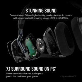 CORSAIR VOID RGB ELITE Wireless Headset Carbon 7