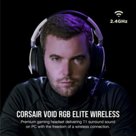 CORSAIR VOID RGB ELITE Wireless Headset White 2